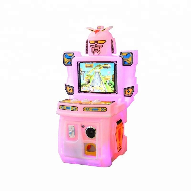 Kids Beating Coin Operated Game Machine Easy To Operate And Handle