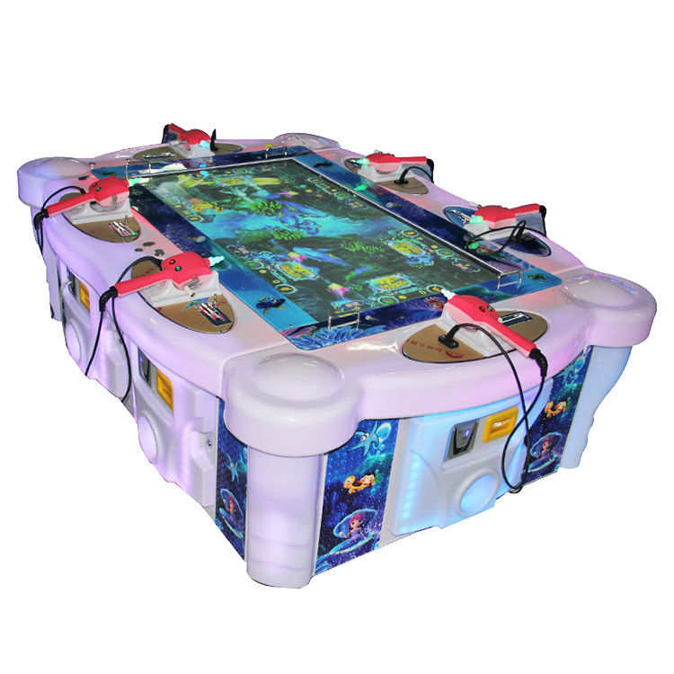 Professional Fishing Pond Game Machine 6 Players Long Service Life